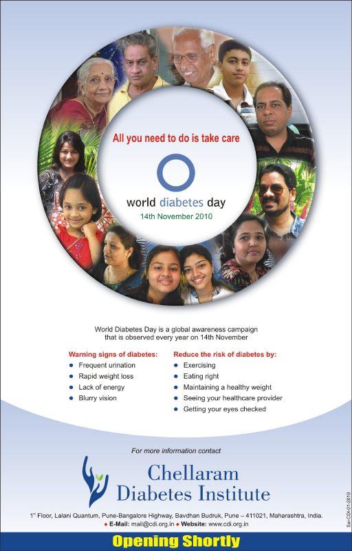 CDI World Diabetes Day Ad