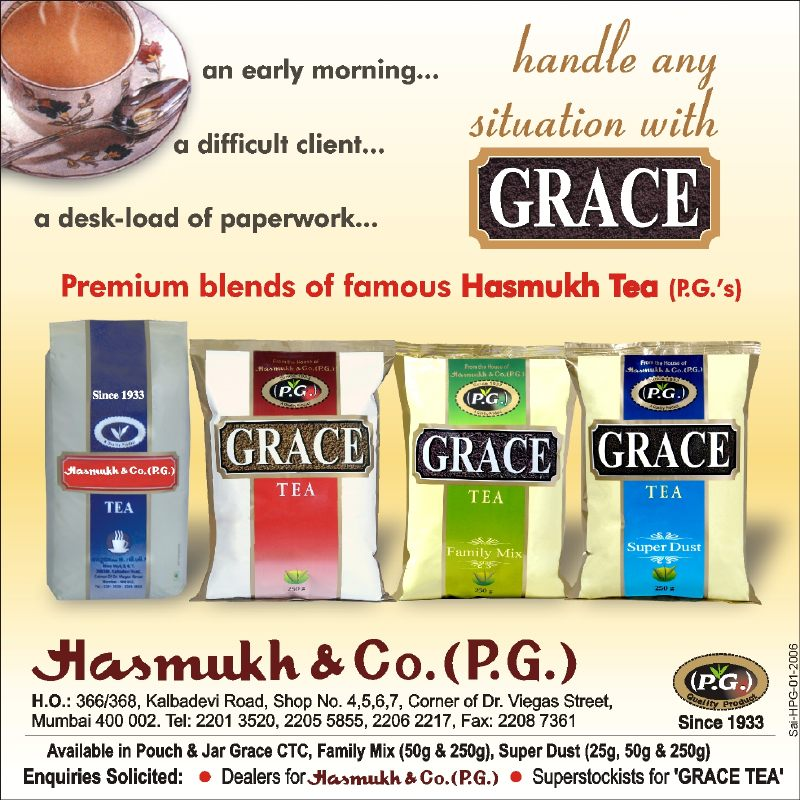 Grace Tea Ad